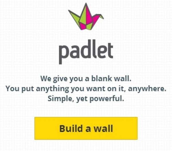 Padlet Homepage